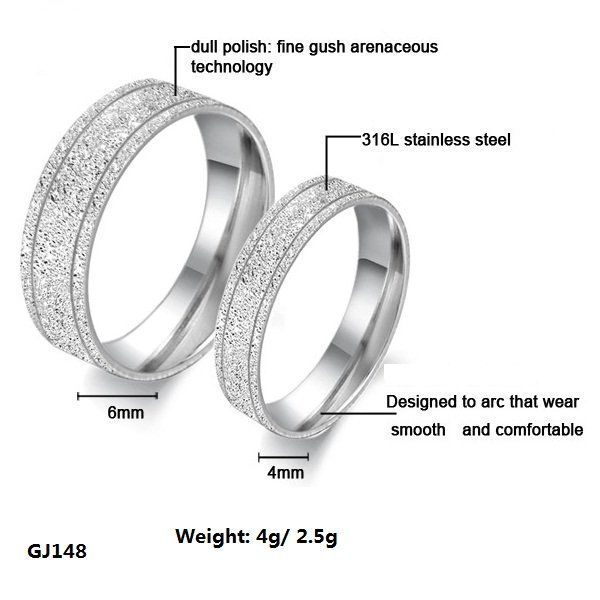 Cheap jewelry silver, Buy Quality jewelry - watch repair directly from China jewelry women Suppliers:    Fashion Jewelry 316L Stainless Steel Silver Half Heart Simple Circle Real Love Couple Ring Wedding Rings Engagement R