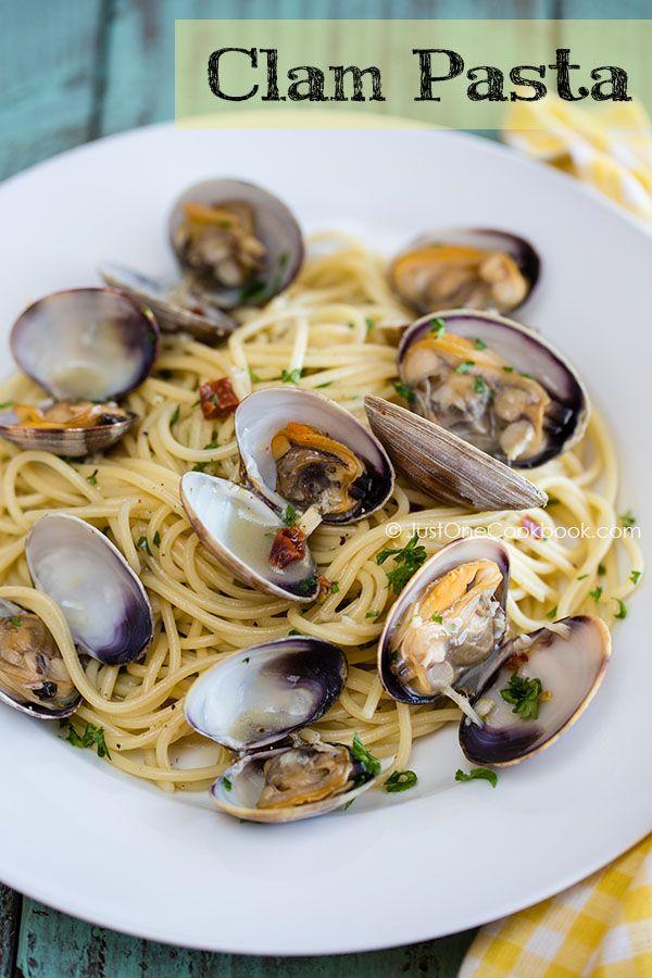 Clam Pasta   Spaghetti Alle Vongole   JustOneCookbook.com