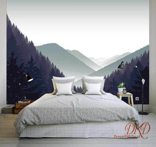 Die besten 25+ Wald tapete Ideen auf Pinterest Wald-Wandmalerei - moderne tapeten fr schlafzimmer