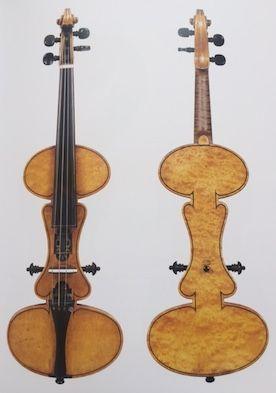 Albert Mute Violin, made in 1886 by Charles Francis Albert of Philadelphia
