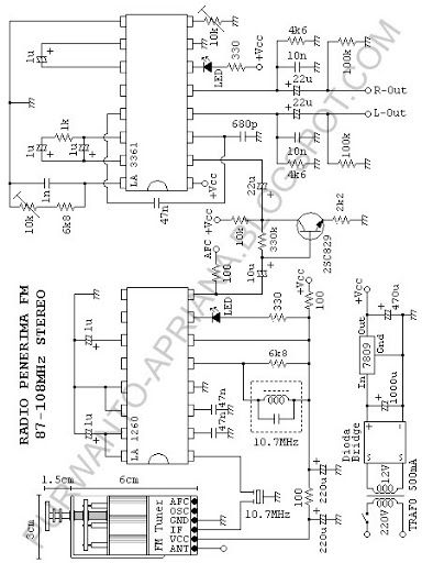 Receiver and How To Build It: Stereo FM receiver using