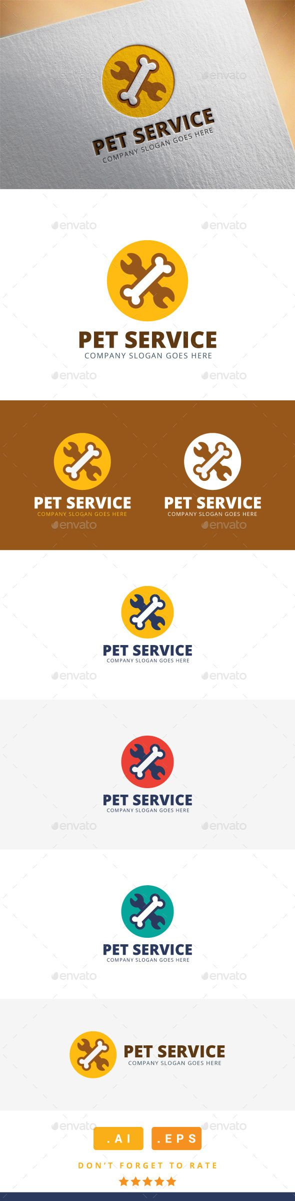 Pet Service Logo