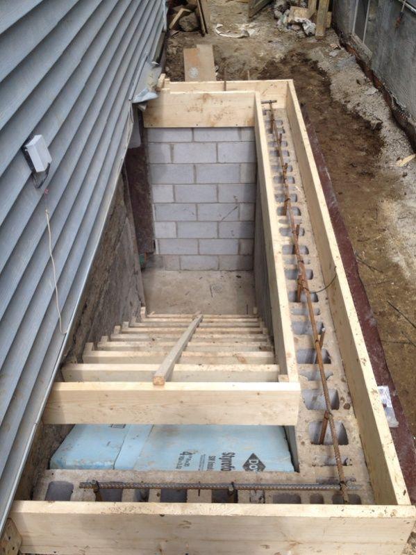 Image Result For Precast Concrete Cellar Steps Concrete Steps   Precast Concrete Basement Steps Near Me   Basement Ideas   Concrete Slab   Basement Entrance   Bilco Doors   Walkout Basement
