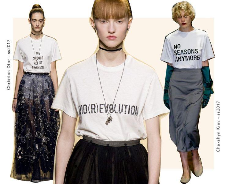 Alerta de tendência: camisetas básicas com quotes