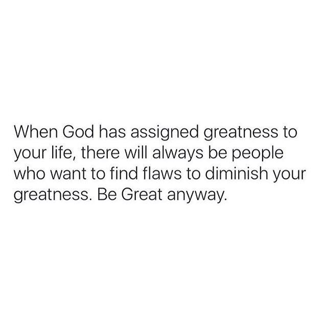 Be Great anyways!! Happy Sunday #Message #icanyoucanwecan #NicB
