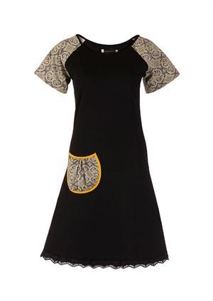 Curly Squares sort kjole - køb Curly Squares kjoler online her Hmm, I think I could do something like this