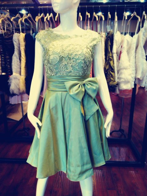 Find More Homecoming Dresses Information about Past Time collection, vintage green lace taffeta homecoming dress, party dress, custom color size, 100% real sample,High Quality sample designer wedding dresses,China sample card Suppliers, Cheap sample prom dresses from Candydress2 on Aliexpress.com