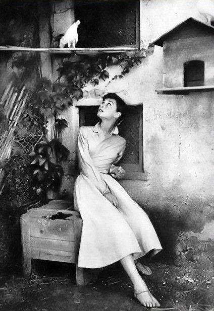 Italy, 1955 Audrey Hepburn