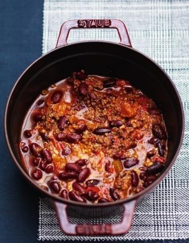 Agneau aux haricots rouges comme un chili pour 6 personnes - Recettes Elle à Table