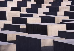 Architect Peter Eisenman's controversial Holocaust Memorial in Berlin was called too abstract and almost historically passive. Here's the story.: Anti-vandalism at the Holocaust Memorial