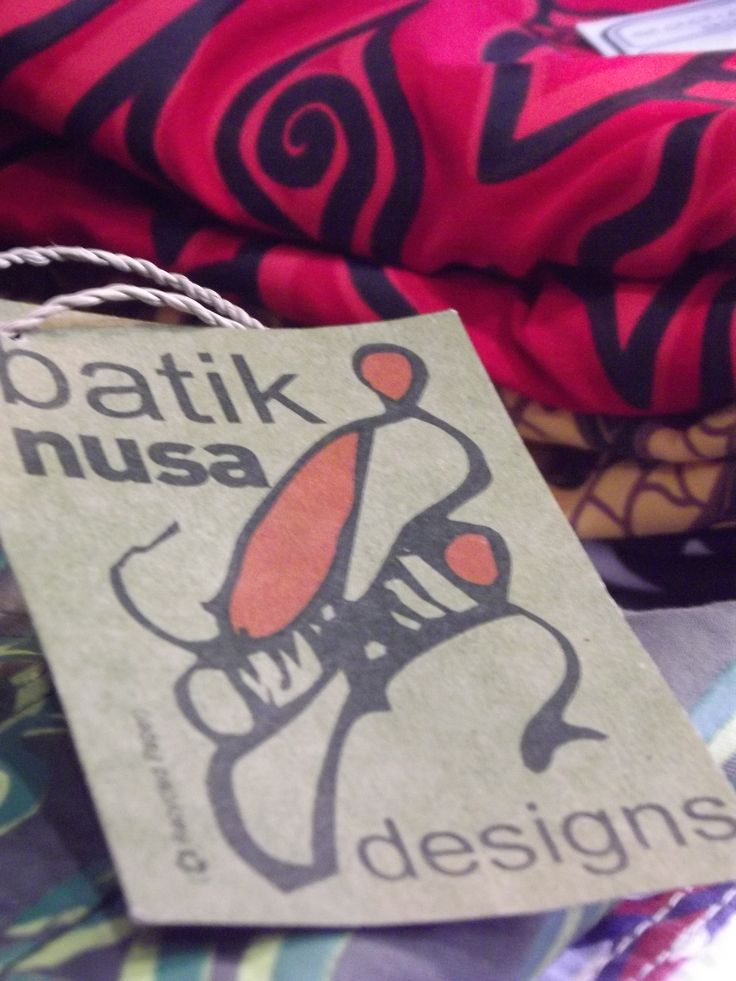 Batik designs at nusa