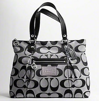 I want this bag.  From Coach