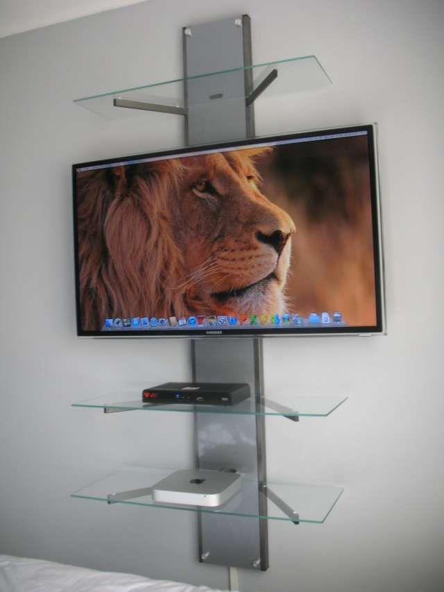 17 mejores ideas sobre soportes de televisores en - Soportes altavoces pared ...