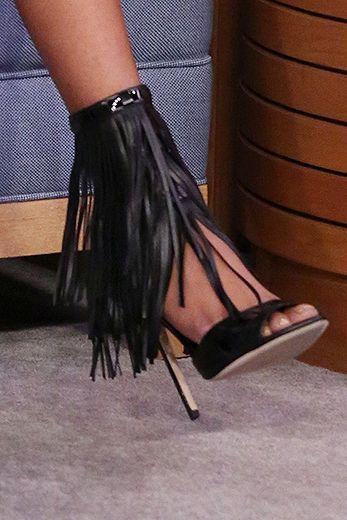 Taraji P. Henson's Shoe Game Is So Mean!
