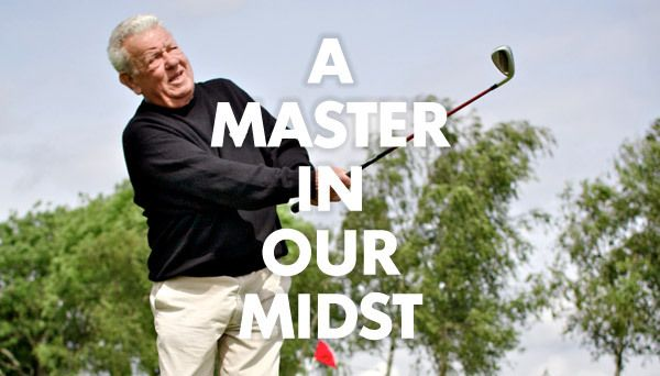 Blog, email and social promo: Golf event with a PGA Master Professional