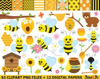 25+ best ideas about Bee clipart on Pinterest | Bee shop, Bumble ...