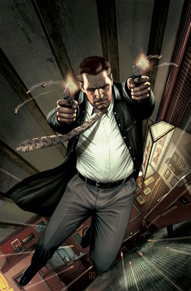 Max Payne - Awesome game with a character that has seen some sh*t.