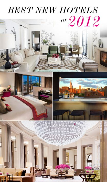 Best new hotels of 2012