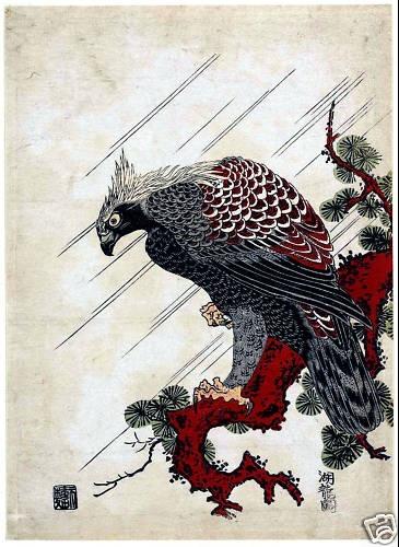 Japanese Woodblock Print by Isoda Koryusai