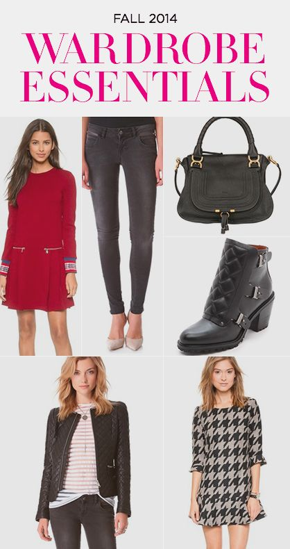 Fall 2014: Must Have Trends #fashion #style