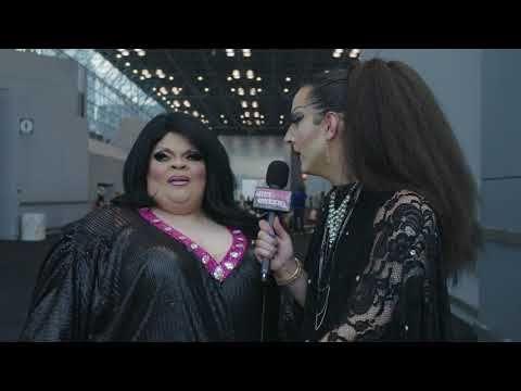 Stacy Layne Matthews at DragCon NYC 2017 - Hey Qween! - YouTube