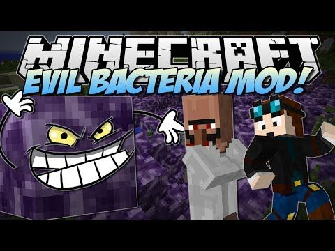 Minecraft | EVIL BACTERIA MOD! (Welcome to the Anti-Lab!) | Mod Showcase
