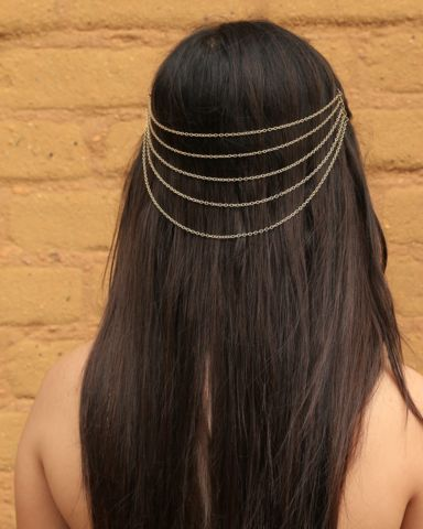 Grecian Chains Hair Combs – Bohemian Tapestry