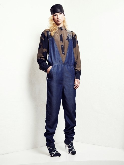 Ann-Sofie BACK | Clear Strap Dungarees