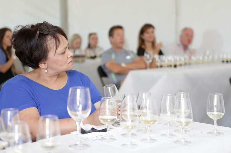 Alicia and another tasting class
