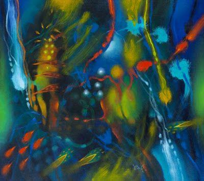 Esta exposición retrospectiva reúne pinturas compuestas con la libertad formal que el pintor indígena de formación académica ha sabido derivar del expresionismo y de la abstracción.