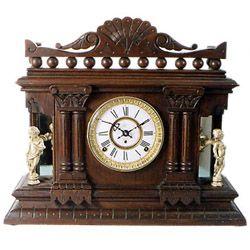 Antique mantel clock by Kroeber Clock Co., circa 1880