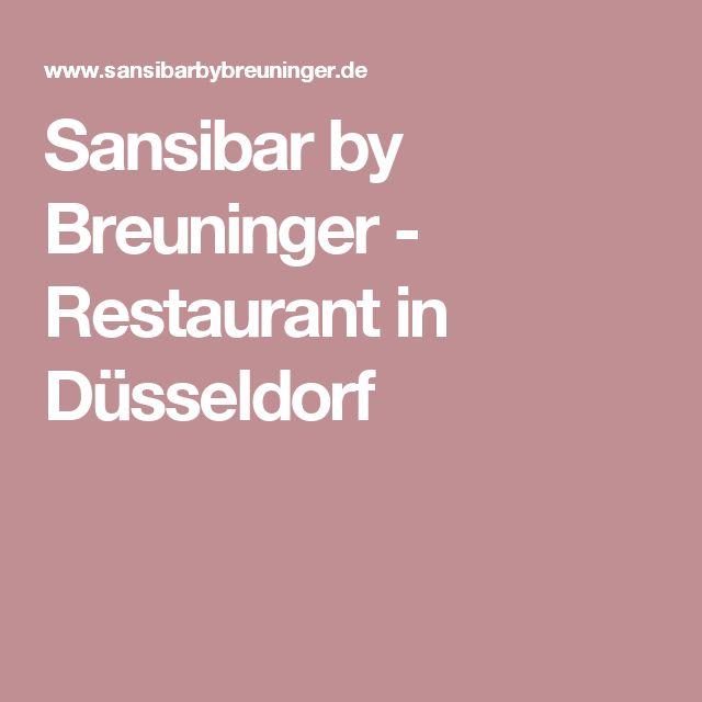 Sansibar by Breuninger - Restaurant in Düsseldorf