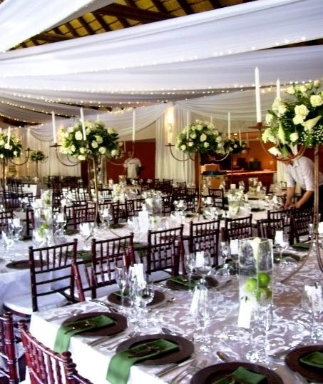 Olive Green Wedding Decor Tiffany Chairs Mahogany Apples As St Joseph Lilies And White Roses A GHINOMAE