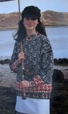 Norway from the Points North, South and East chapter in Alice Starmore's Fishermen's Sweaters