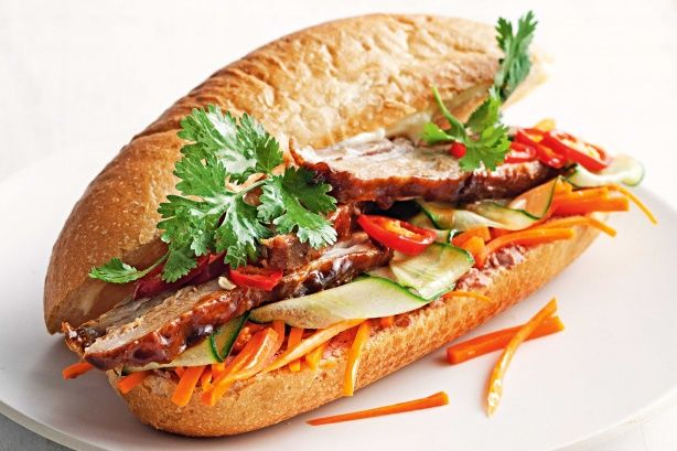 Marion Grasby reveals the secret to the perfect Vietnamese pork roll; Sticky pork belly banh mi