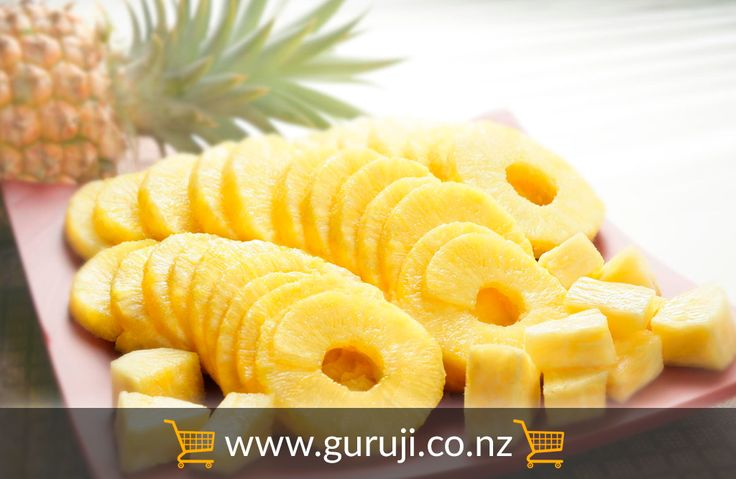 Pineapple Core slices are available online at GuruJi supermarket. Retail store is located in Christchurch, New Zealand but delivers the items all over the New Zealand when ordered online.