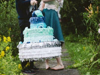 Las piñatas de boda + cool