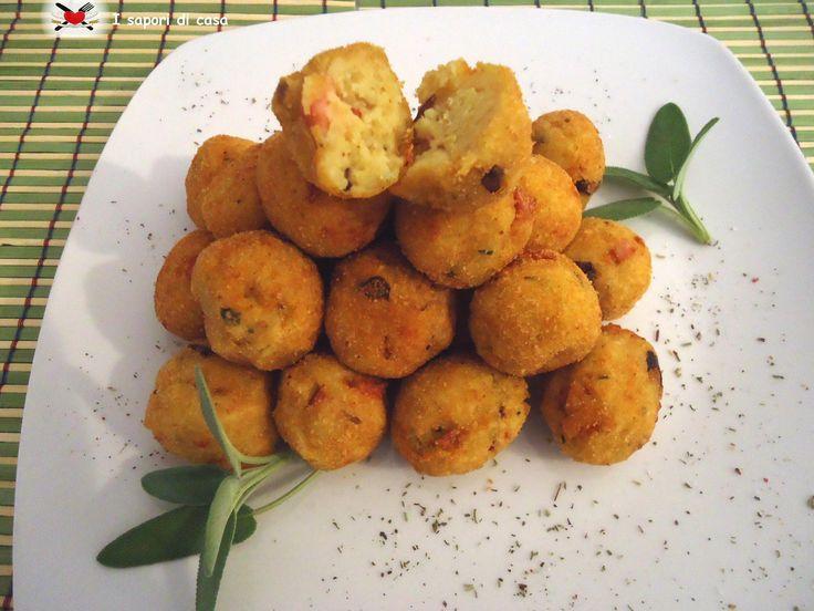 Crocchette di patate con funghi e wurstel
