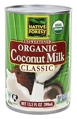 Native Forest - Coconut Milk Classic Organic Unsweetened - 13.5 oz (pack of 2) *** Learn more by visiting the image link.