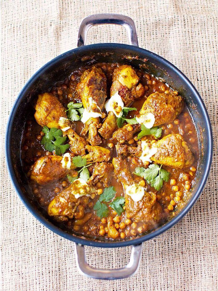 Pollo estilo Marruecos