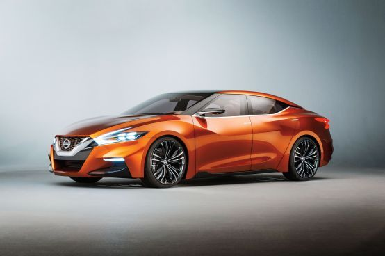 Nissan Sport Sedan Concept First Look - Motor Trend