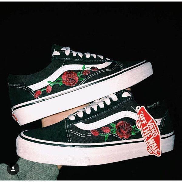 vans old skool con rose