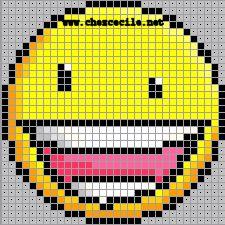 ~~Motifs pour le Point de Croix : Les Smileys~~