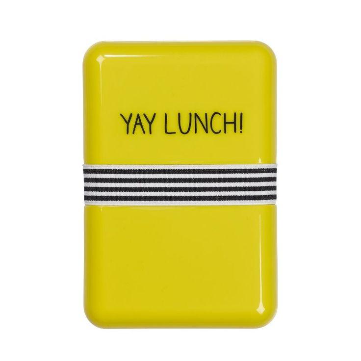 Happy Jackson Yay Lunch Box from illustratedliving.co.uk