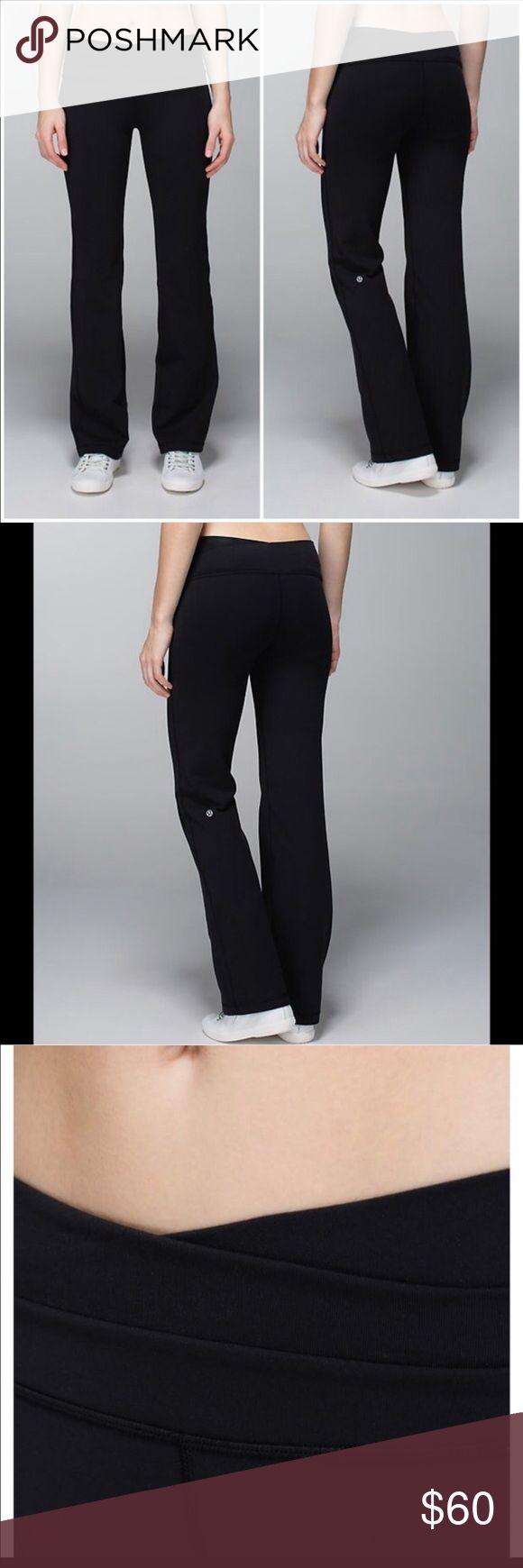 Lulu Lemon black astro pant NWOT New without tags. Never been worn. Length: regular. 81% nylon and 19% lycra spandex lululemon athletica Pants