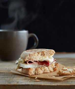 Starbucks Reduced-Fat Turkey Bacon Breakfast Sandwich