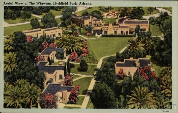 Wigwam Resort Aerial View - Litchfield Park Arizona - www.thewestvalleyhometeam.com