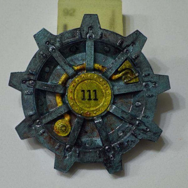 Fallout Vault Door vault tec corporation sticker fallout decal pipstickermasters