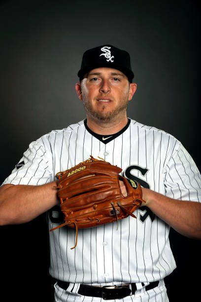 Blake Smith of the Chicago White Sox poses on Chicago White Sox Photo Day during Spring Taining on February 23 2017 in Glendale Arizona