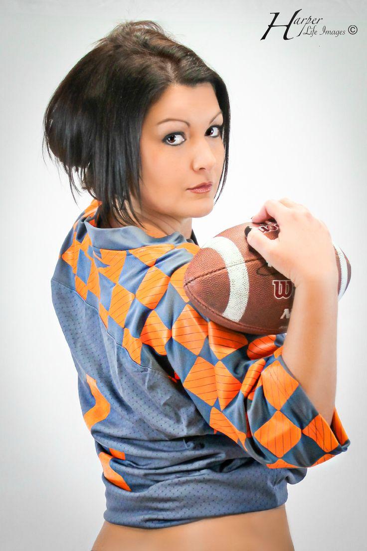 Photography Photoshoot football boudoir